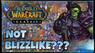 Blizzard says Private Servers are WRONG! But how wrong are they? | New Classic WoW Interview