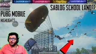 EVERYONE LANDING SAME PLACE?   PUBGM FUNNY MOMENTS   CARRYMINATI HIGHLIGHT