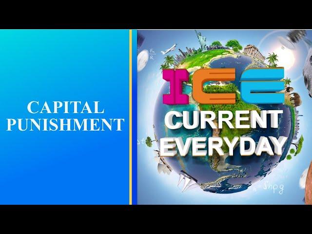 081 # ICE CURRENT EVERYDAY # CAPITAL PUNISHMENT