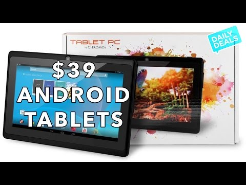 $39 Android Tablet Black Friday Doorbuster- The Deal Guy
