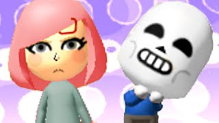 i added sans & natsuki to tomodachi life