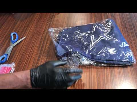 Adjustable Velcro Chef Hat, Bib Cooking Aprons | Dallas Cowboys | Unboxing