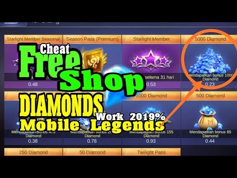 CHEAT/HACK Diamonds Mobile Legends || Terbaru 2019 Auto Jadi Sultan