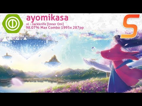 osu!Taiko ayomikasa xi - Jackknife [Inner Oni] 98.07% 287pp