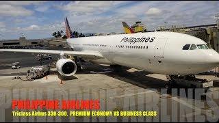 Philippine Airlines Premium Economy Vs. Business Class