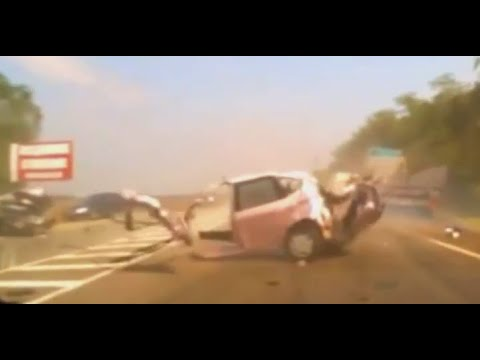 Scary car crash compilation 6. Brutal car accidents. Graphic content viewer discretion is advised