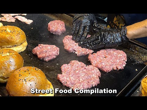 Street Food Fantasic Compilation - Around the World Ep19