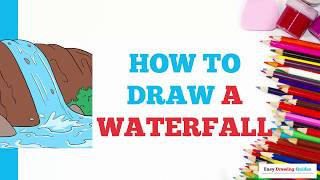 Easy Waterfall Drawing For Kids Free Video Search Site Findclip