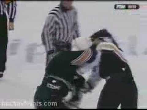 George Parros vs Donald Brashear