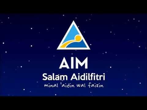 AIM: Salam Aidilfitri minal 'aidin wal faizin
