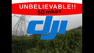 MUST SEE!! 50mbps New DJI FPV firmware + Low light lots of grass test - 2020