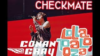 Conan Gray   Checkmate   Lollapalooza '19 (live)
