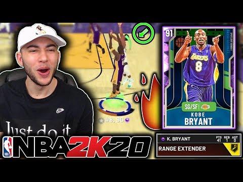 AMETHYST KOBE BRYANT'S NEW RELEASE IS UNSTOPPABLE! BEST SCORER IN MYTEAM! NBA 2K20 Gameplay