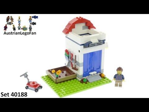 Vidéo LEGO Objets divers 40188 : Le pot à crayons LEGO