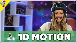 1D Motion & Kinematics - Physics 101 / AP Physics 1 Review with Dianna Cowern