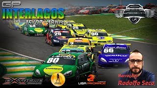 STOCK CAR COM GANDIGAMEPLAYS | AUTÓDROMO DE INTERLAGOS | PC | ETAPA 08 DE 08 | NARRAÇÃO RODOLFO SECO