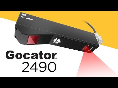 Der 3D-Smart-Profilsensor mit 2 m Sichtfeld | Gocator 2490