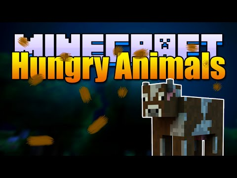 Minecraft HUNGRY ANIMALS Mod! Poop and Excrete! (Minecraft v1.7.10 Mod Spotlight)