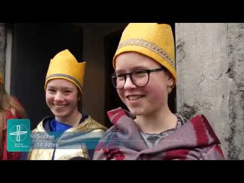Aussendungsgottesdienst der Sternsinger im Aachener Dom