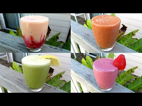 20 AMAZING SMOOTHIE RECIPES PART 2 GREAT FOR KIDS