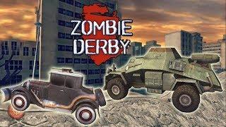 Игры зомби выживание крутая игра Zombie Derby 2 машинки игры гонки