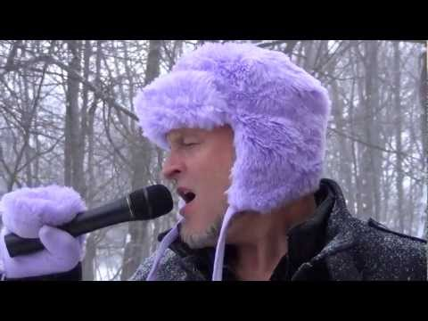 Elvis Presley - Just Pretend - Lyrics - Singing in a snow storm in my GF's fuzzy purple hat!