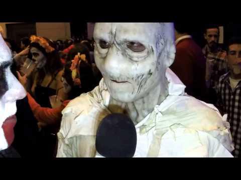 Halloween en Málaga [27]: La Momia Malagueña, el disfraz más terrorífico de la noche de brujas