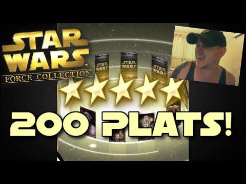 Star Wars - Force Collection #109: 200 PLATINUM PACKS!!!!