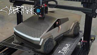 I 3D Printed The Tesla CyberTruck!!