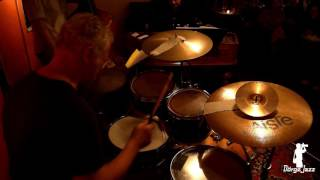 Baló István drums solo Jederman Café Budapest 2016. 12. 02.