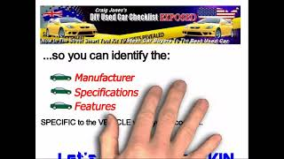 Vehicle Identification Numbers - How To Decode VIN