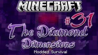 """NAGA BOSS BATTLE""   Diamond Dimensions Modded Survival #31   Minecraft"