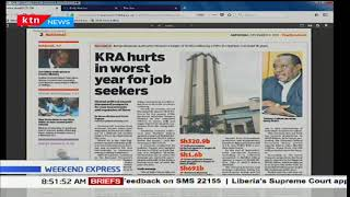 KRA hurts in worst year for job seekers