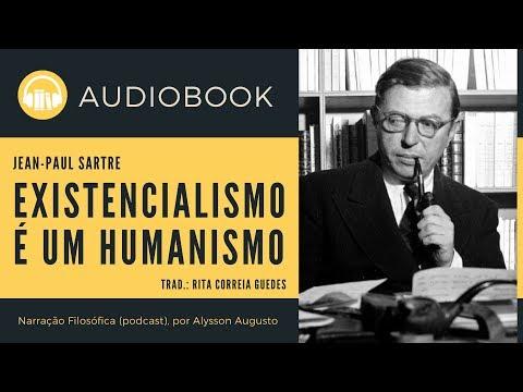 O Existencialismo É Um Humanismo, Jean-Paul Sartre | AUDIOBOOK COMPLETO | VOZ HUMANA