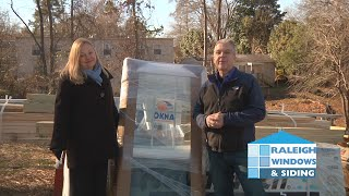 Raleigh Windows and Siding Habitat Donation
