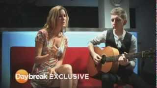 "Joss Stone - ""Then You Can Tell Me Goodbye"" acoustic on Daybreak show (ITV)"