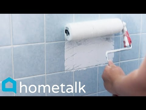 Painting Ceramic Tile – Easily update your old tub—without remodeling!  | Hometalk