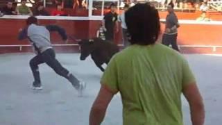 preview picture of video 'Vaquillas en Bergara 2010 Pentekosteak'