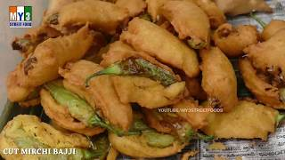 MIRCHI BAJJI COLLECTION | INDIAN RECIPES COMPILATION | CHILL FITTERS | STREET FOODS IN INDIA