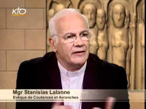 Mgr Stanislas Lalanne - Diocèse de Coutances et d'Avranches