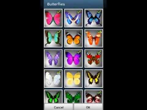Video of Butterflies LITE LWP