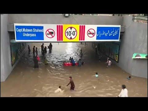 العرب اليوم - أمطار لم تشهد لاهور لها مثيلًا من 38 عامًا