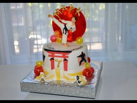 Идея торта для каратиста
