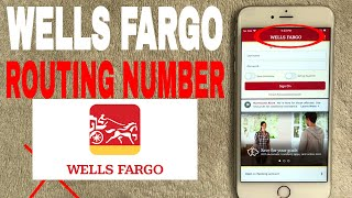 ✅  Wells Fargo Bank Routing Number - Where To Find It?  🔴