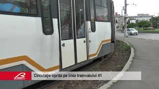 Circulatie Oprita Pe Linia Tramvaiului 41