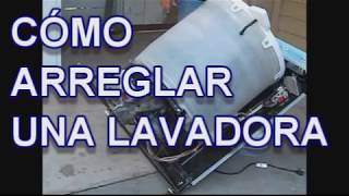 COMO ARREGLAR UNA LAVADORA - MOTOR - Lorena Lara