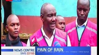 Over 300 families displaced  in Murang'a as heavy rains pour in the county