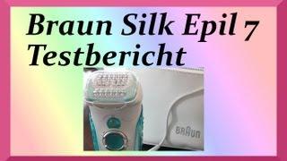 Braun Silk Epil 7 Testbericht deutsch Review
