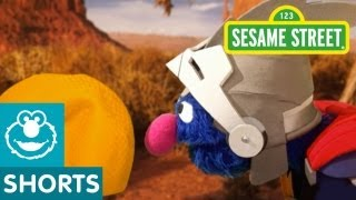 Sesame Street: Super Grover Finds The Perfect Ball for a Cactus