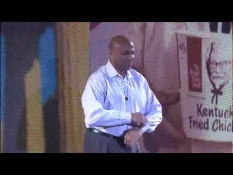 The Shirt Off Competiton - Charles Barkley vs Shaquille O'Neal (5-15-2012)